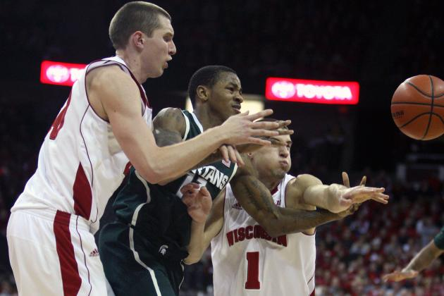 Badgers Find Free Throws Are Costly in Loss to Spartans