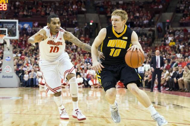 Men's Basketball: Buckeyes Survive Sloppy Second Half, Outlast Hawkeyes