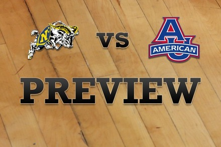 Navy vs. American University: Full Game Preview