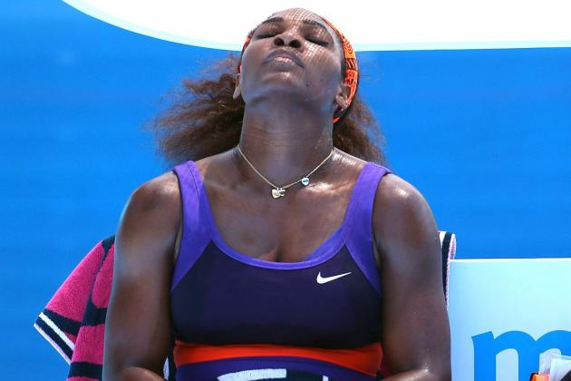 Serena Williams Eliminated by Sloane Stephens at 2013 Australian Open
