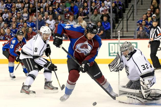 Avalanche Surge in 2nd Period to Beat Kings
