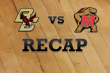 Boston College vs. Maryland: Recap and Stats