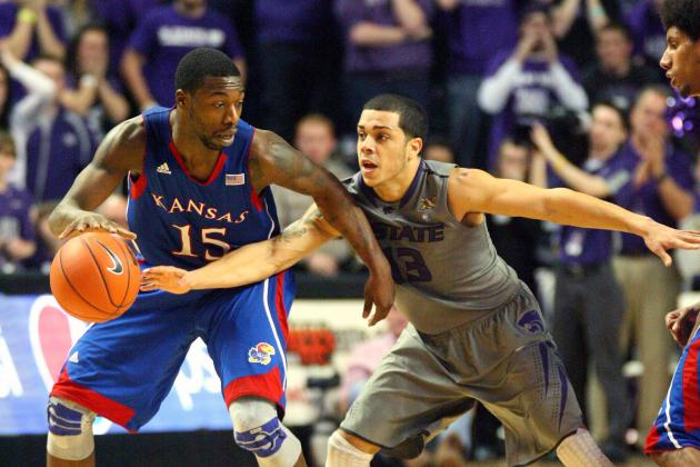 KU Overcomes Crowd, McLemore's Fouls to Beat K-State