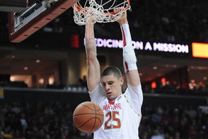 Center Alex Len leads Terps in win over Boston College