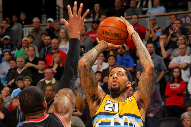 Nuggets' Wilson Chandler Working Hard to Find Rhythm Upon Return