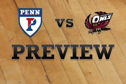 Penn vs. Temple: Full Game Preview