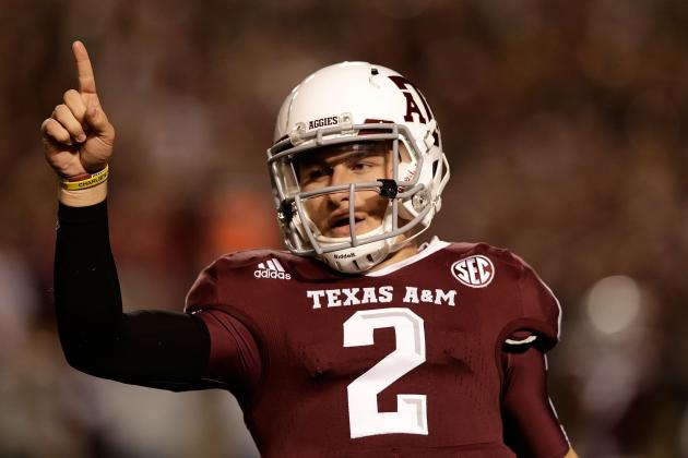 Johnny Manziel's Biggest Rivals for the 2013 Heisman Trophy