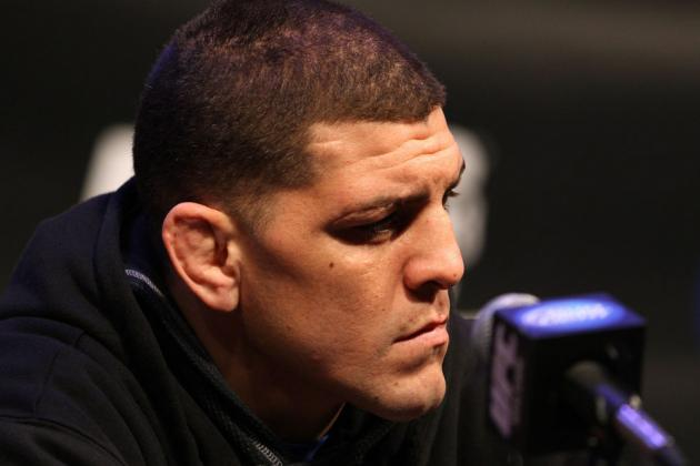 UFC 158: Nick Diaz Arrives in Montreal for First Press Conference with GSP