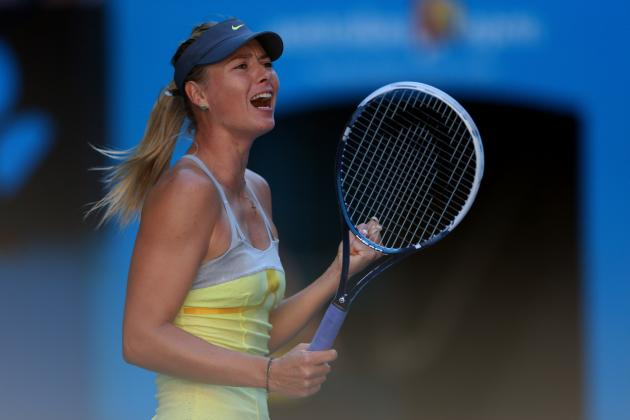 2013 Australian Open: Li Na Stuns Maria Sharapova, Moves Through to Final