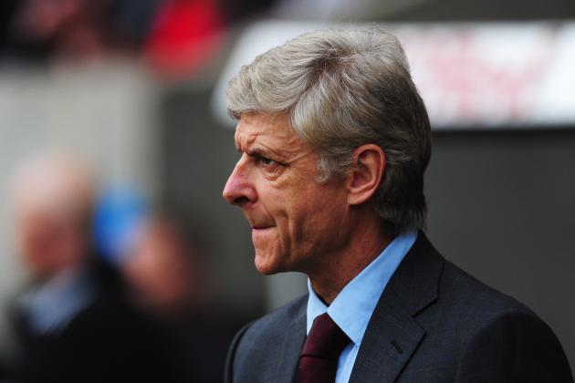 Arsene Fears for Stuttering Arsenal After Watching Side Slump in Big Games