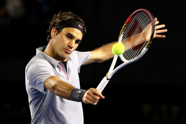Roger Federer Defeats Jo-Wilfried Tsonga to Advance at 2013 Australian Open