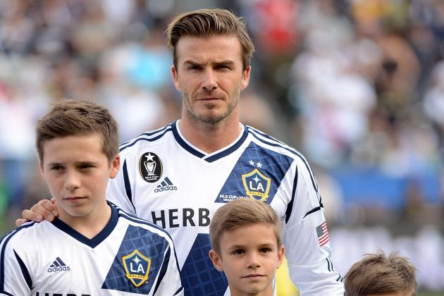 David Beckham's Son on Trial at Chelsea