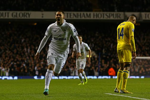 Clint Dempsey Is Feeling Settled at Tottenham and Hopes to Provide More Goals