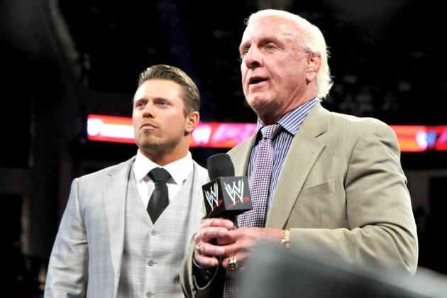 The Miz Did Not Benefit from the Segment with Ric Flair on Raw