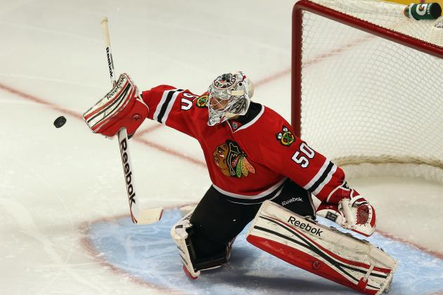 Chicago Blackhawks: Corey Crawford Comes Up Big vs Blues, but It Wasn't Perfect