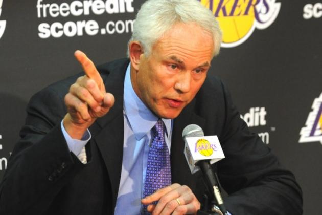 Kupchak: Lakers Effort Is Problem, Not D'Antoni