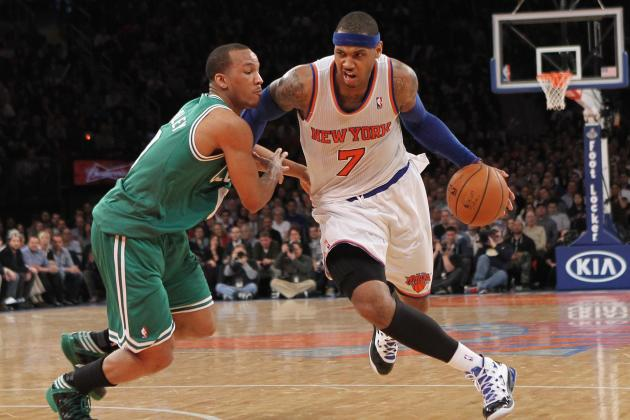 Carmelo Anthony Has Score to Settle with Celtics, Not Kevin Garnett