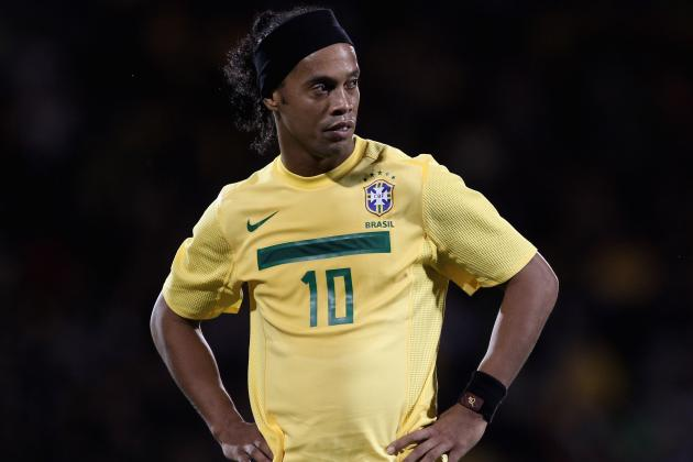 Ronaldinho Back for Brazil to Face England, Kaka off Roster