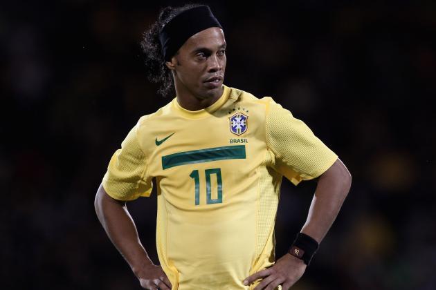 Ronaldinho Back for Brazil to Face England, Kaka off Roster