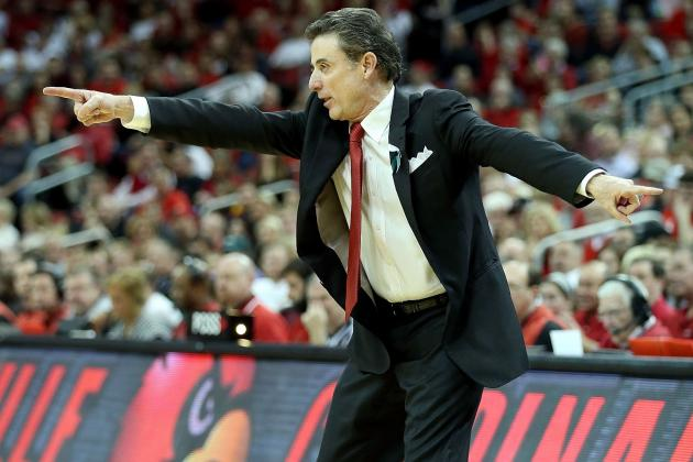 Pitino Says Louisville Lost Because It Shot Free Throws Like Shaq and Howard