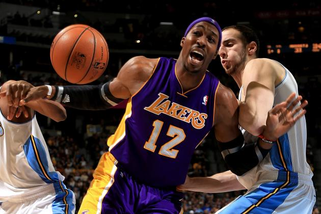 NBA Trade Rumors: Trading Dwight Howard Would Finish Lakers