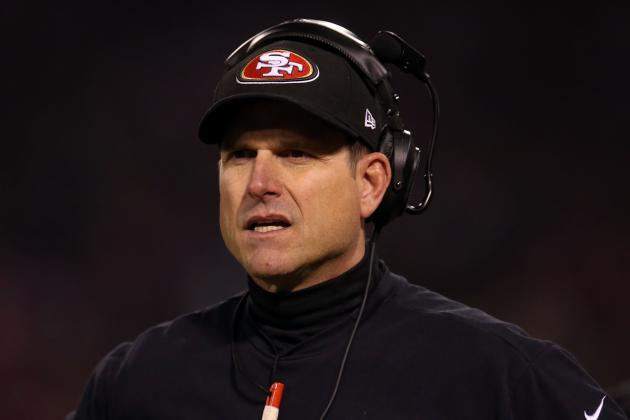 Harbaugh Views 49ers vs. Ravens as Blessing and Curse