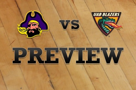 East Carolina vs. UAB: Full Game Preview