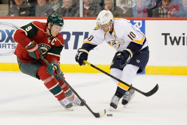 Erat Scores Go-Ahead Goal as Preds Beat the Wild