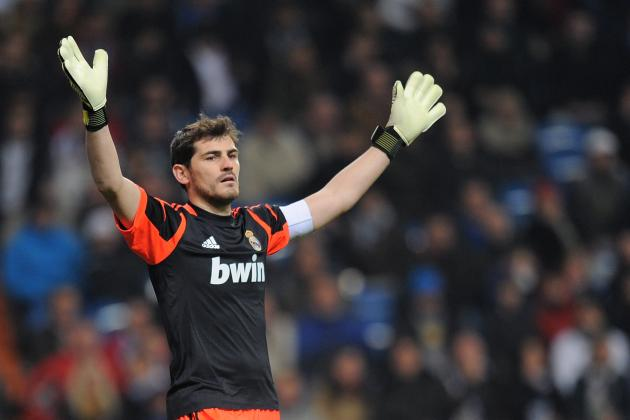 Manchester United Target Real Madrid Keeper Casillas