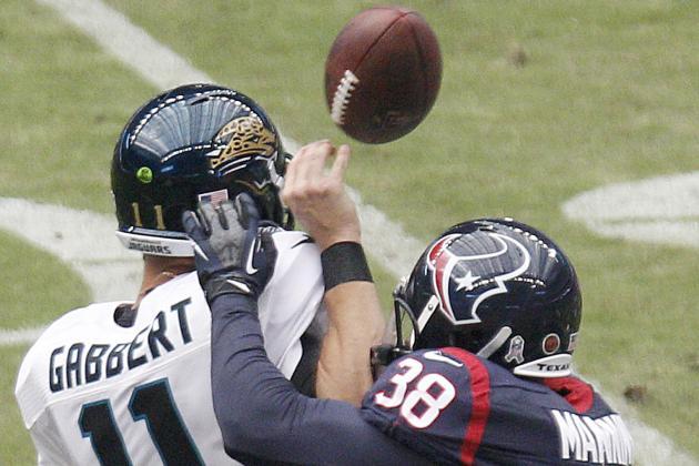 Jaguars Advanced Stat of the Week: Blaine Gabbert Fails at NY/A