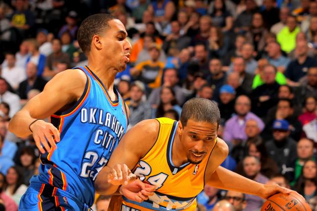 VIDEO: Thunder Guard Kevin Martin Fined $5,000 for Flopping