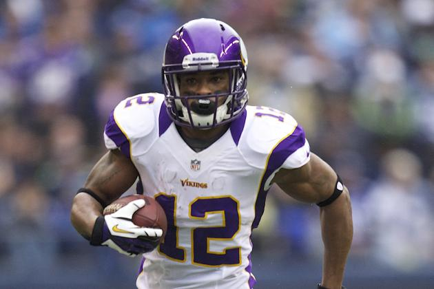 Vikings 2013 Look Ahead: Wide Receivers