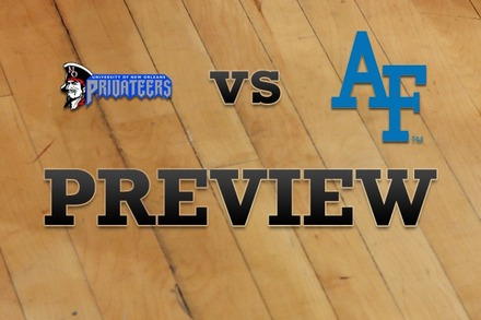 New Orleans vs. Air Force: Full Game Preview