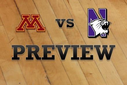 Minnesota vs. Northwestern: Full Game Preview