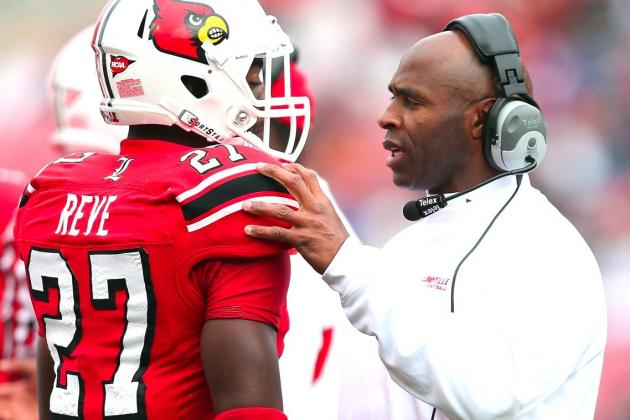 Louisville Head Coach Charlie Strong Reportedly Signs 8-Year Contract Extension