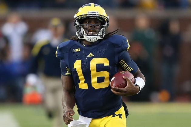 Schwartz: 'It's Probably Too Soon to Tell' on Denard Robinson