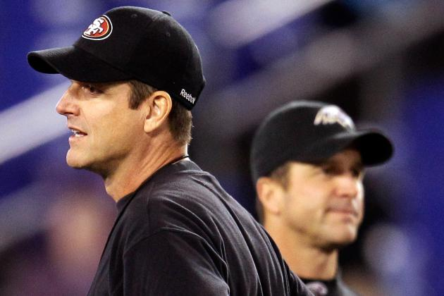 Harbaugh Brothers Will Have Joint Press Conference Before Super Bowl
