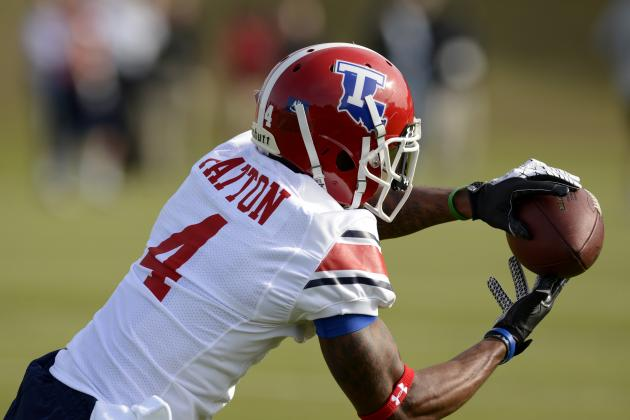 WR Group Focus of Attention at Senior Bowl Practices
