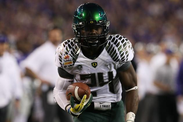 Kenjon Barner and Kyle Long Tearing It Up in Senior Bowl Practices