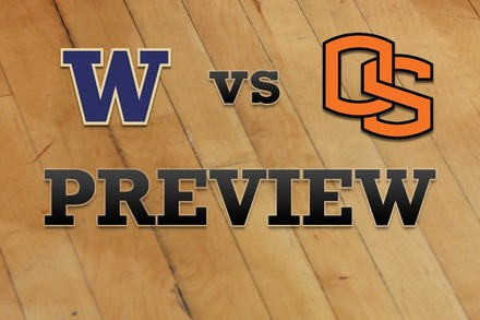 Washington vs. Oregon State: Full Game Preview