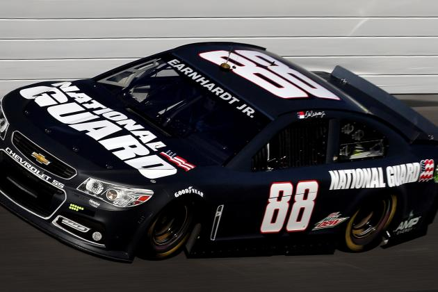 Earnhardt's No. 88 Unsponsored for 13 Races