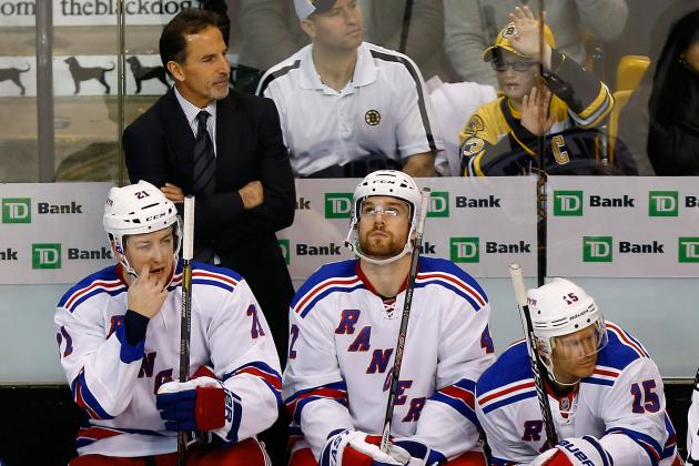 Rangers in Need of a Mental Makeover, Says Torts
