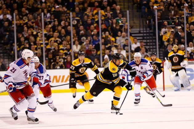 Boston Bruins (2-0-0) at New York Rangers (0-2-0), 7:30 P.m. (ET)