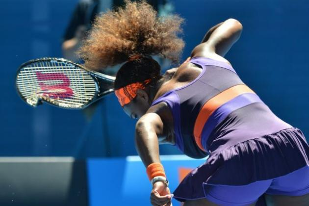 Serena Williams Destroyed Her Racquet, Is a Very Strong Woman