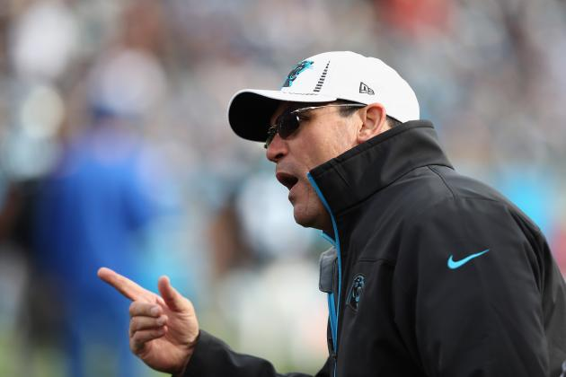 Carolina Panthers' Coach Ron Rivera Is Popular at Senior Bowl