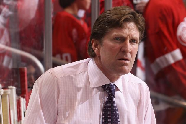 Red Wings Too Passive on Power Play, Mike Babcock Calls It 'Terrible'