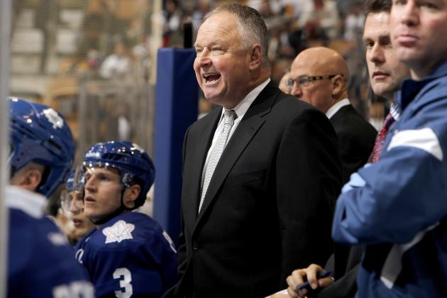 Maple Leafs Coach Randy Carlyle Wants More Soldiers in 'war Zone'