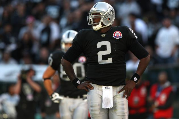 Oakland Raiders: Too Little, Too Late for Former No. 1 Pick JaMarcus Russell?
