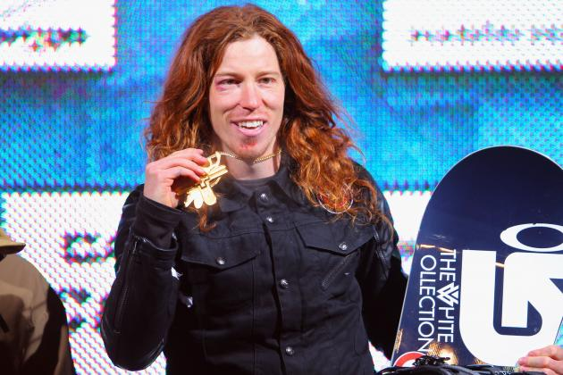 Shaun White at X Games After Bizarre Year and Bar Refaeli Girlfriend Rumors