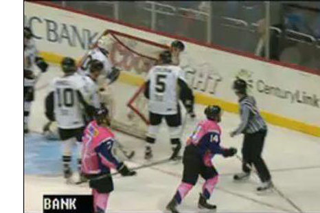 ECHL Goalie Gets Mad, Dumps Goal Cage on Ref, Earns Penalty (VIDEO)